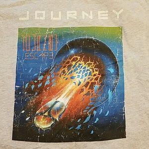 NWOT Journey's, 1981 Escape album cover t-shirt